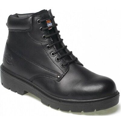 MENS DICKIES ANTRIM LEATHER  SAFETY BOOTS STEEL TOE CAP WORK SHOES UK SIZE 6 -13
