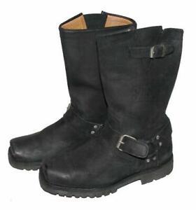 """WOW! """" SANCHO """" Biker- Stiefel / Western- Boots / Lederstiefel in schwarz Gr. 40"""