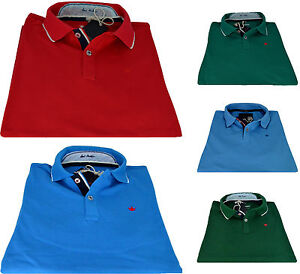 Polo-T-shirt-Maniche-Corte-Slim-Fit-Uomo-ELVSTROM-Polo-T-Shirt-Short-Sleeves