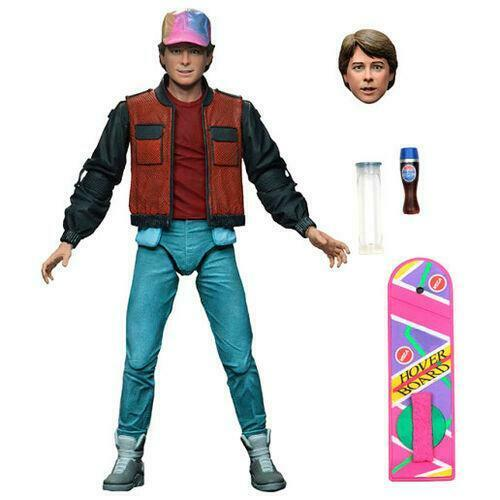 NECA Back to the Future 2 Marty Mcfly Action Figure