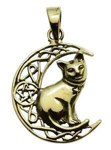 2019 Neuer Stil Katze Mond Anhänger Bronze Symbol Schmuck - Neu PüNktliches Timing