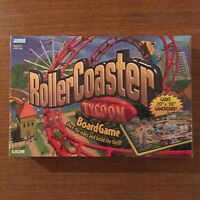 Roller Coaster Tycoon Board Game Parker Brothers 2002 Rollercoaster & Sealed