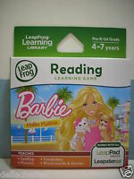 Leap Frog Explorer Barbie Malibu Mysteries Game Leap Pad Ultra Leapster Gs