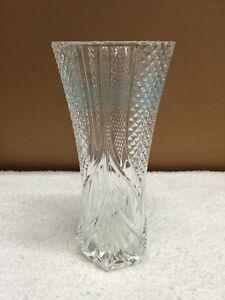 Vintage Fancy Cut Gl Crystal Flower Vase | eBay on ebay cut glass vase, ebay asian vase, ebay cameo glass vase, ebay brass vase, ebay crystal bowls, ebay crystal baskets, ebay blue glass vase, ebay herend vase, ebay crystal chandelier, ebay carnival glass vase, ebay crystal clocks, ebay art glass vase, ebay ivory vase, ebay crystal stemware, ebay crystal wine,