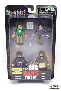 Big Bang Theory Minimates # 1 Box Set
