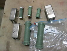 Lot of Misc. RF Filters, RF-420, and ????????? Coils? for Military Radio Antenna
