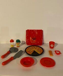 Vintage Pizza Hut Play Food Set 16pc Toy Kitchen Lot Ebay