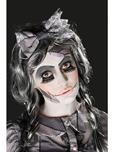 Damaged Doll Make-Up Kit, Black, Transfers, Facepaint,  (US IMPORT) COST-ACC NEW