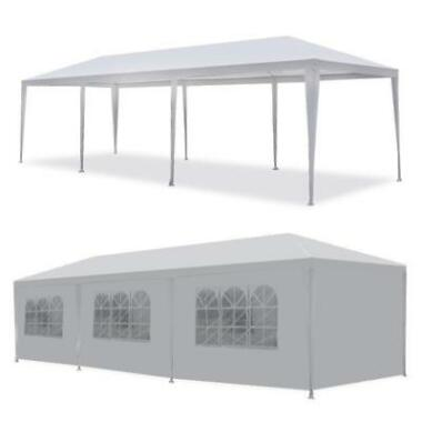 Wedding Party Tent 10'x30' Outdoor Canopy w/8 Side Walls