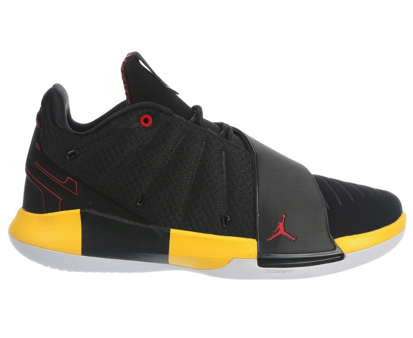 Jordan CP3.XI Taxi homme AA1272-002 noir rouge jaune Basket chaussures Taille 11