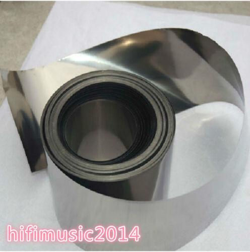 99.99/% Pure Iron Foil Fe Thin Sheet 0.05mm x 200mm x 1000mm