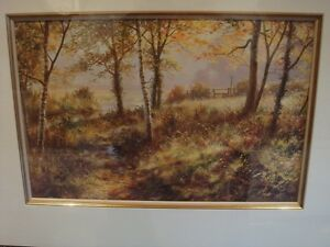 Image Is Loading David Dipnall Ltd Edt Mounted Print 039 October