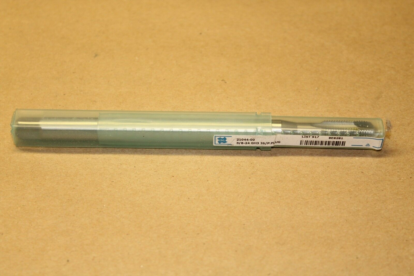 OSG M8 x 1.25 0H3 4FL Carbide Tap 06419TP Japan #12B-A0293