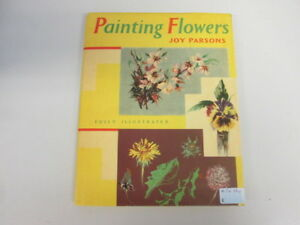 Good-Painting-Flowers-Parsons-Joy-1964-12-01-Dustjacket-has-been-price-clip