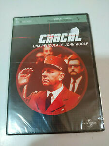 Chacal-John-Woolf-DVD-Slim-Espanol-Ingles-Aleman-Nueva-AM