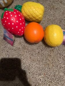 Image Is Loading Dollar Tree Fruit Squishy Bundle
