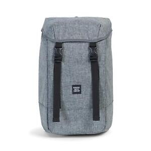 8959330da31c Image is loading Herschel-Supply-Co-Iona-600D-Poly-Backpack-Raven-