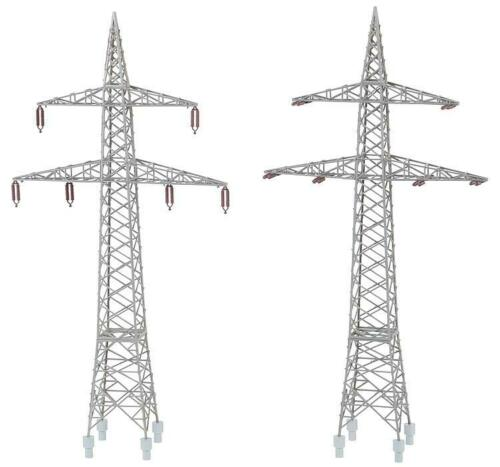 110 kV Faller 130898 H0 Bausatz  2 Freileitungsmasten 1:87