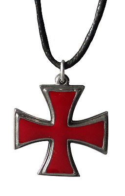 Knights Templar  Masonic square black Enameled Pewter Cufflinks