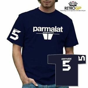 Retro-GP-Parmalat-Brabham-T-Shirt-Classic-Grand-Prix-Formula-One-F1