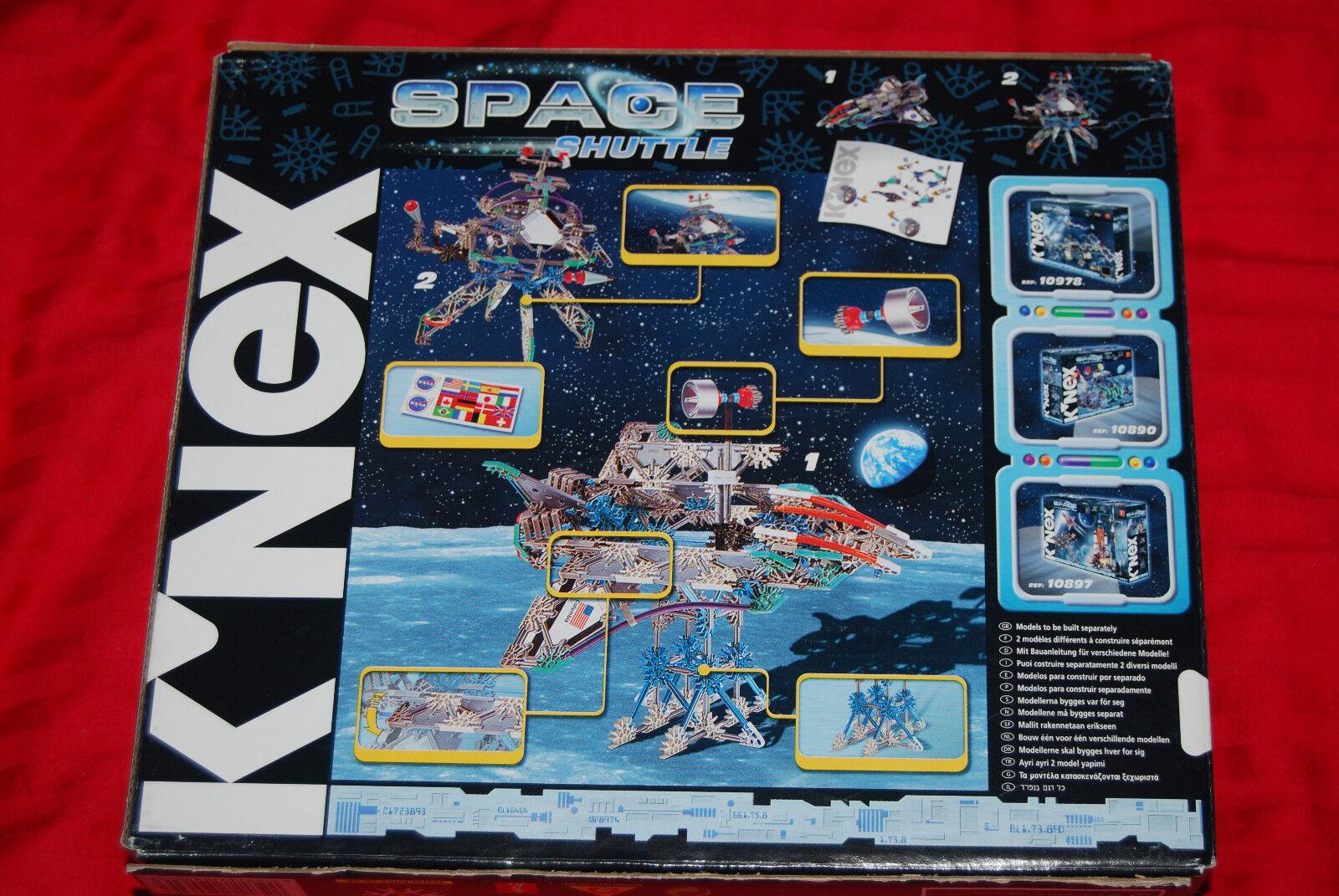K'Nex K'Nex K'Nex NASA Space Shuttle Columbia Orbiter Model - Ref 10894 - Rare & OOP 216638