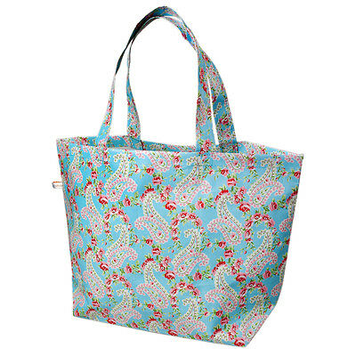 dotcomgiftshop PAISLEY PARK RECYCLED PLASTIC LARGE SHOPPING BEACH BAG