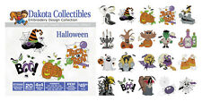 Dakota Collectibles Embroidery Machine Design CD - Haloween 970542