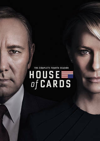 House of Cards: Season 4 - DVD IN ORIGINAL SHRINK WRAP! BRAND NEW DVD!
