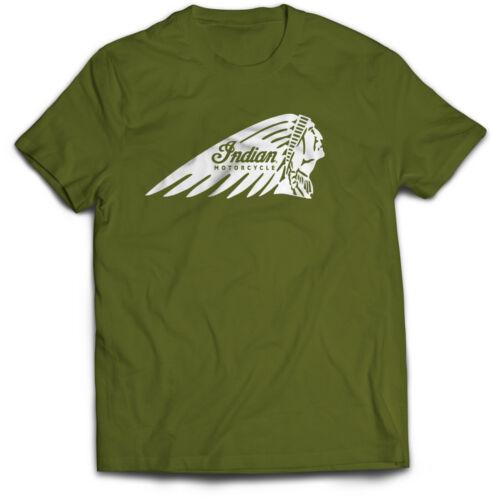 Indian Motorcycle T-Shirt Biker t shirt chopper custom lucky13