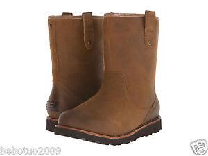 chestnut waterproof leather uggs