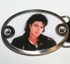 "MICHAEL JACKSON King of Pop BAD PHOTO Unisex BELT BUCKLE Bravado 2-7/8"" x 4"" New"