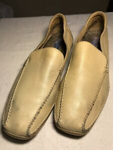 Leather Loafer Tan Shoes Size