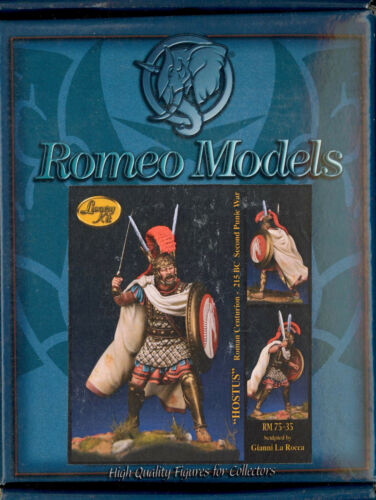 Romeo Models 75mm HOSTUS ROMAN CENTURION SECOND PUNIC WAR 215 BC