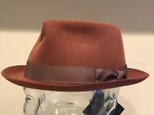 12bfda34fa8 item 3  325 Bailey Of Hollywood Fur Felt Beaver Rabbit Hat Trilby Fedora  Cognac MEDIUM - 325 Bailey Of Hollywood Fur Felt Beaver Rabbit Hat Trilby  Fedora ...