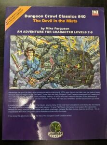 1x-Dungeon-Crawl-Classics-40-the-Devil-in-the-Mists-Used-Fine-dungeon-crawl-Cl