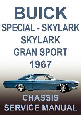 SPECIAL SPORTWAGON SKYLARK BUICK 1965 WORKSHOP MANUAL