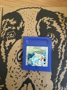 Pokemon-Blue-Version-Nintendo-Gameboy-AUTHENTIC-TESTED-WORKING-amp-SAVES