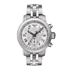Ladies Tissot PRC 200 Silver Watch with Stainless Steel Band NEW- T0552171103300