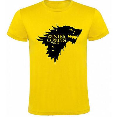 Camiseta Juego de Tronos Stark winter is Hombre varias tallas y colores a038