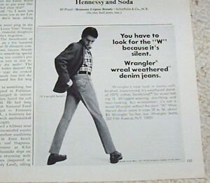 1966-vintage-ad-Wrangler-denim-Jeans-Blue-Bell-fashion-PRINT-ADVERTISING