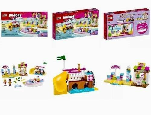 LEGO JUNIORS FRIENDS ANDREA & & & STEPHANIE'S BEACH HOLIDAY 10747 IN HAND TO SHIP f21153