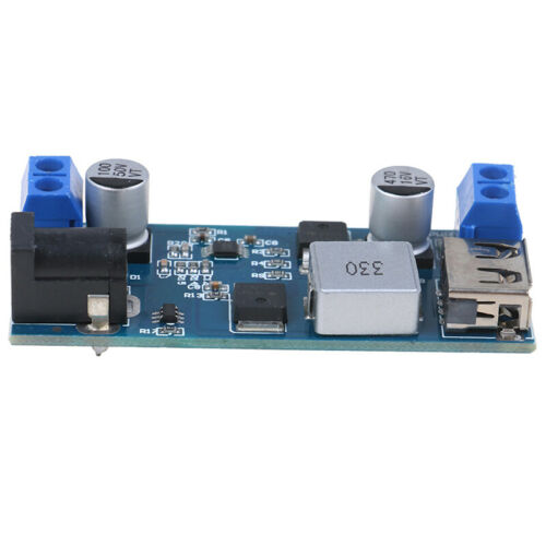 5A DC-DC 24V 12V to 5V Step Down Power Supply Converter USB Charging Module
