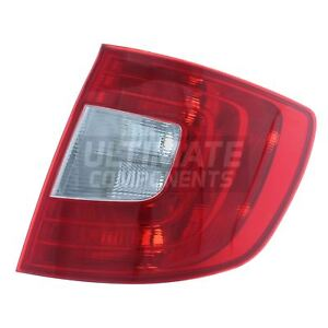 Skoda-Superb-Mk2-Estate-1-2010-2013-Rear-Back-Tail-Light-Lamp-Drivers-Side-O-S