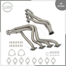 For 67 72 Chevy Big Block 396 402 427 454 Pair Long Tube Header Exhaust Manifold