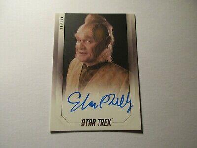 Star Trek Inflexions Starfleets Finest Ethan Phillips Movie Autograph A148