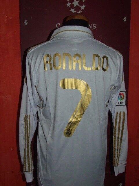 RONALDO REAL MADRID M 2011 12 MAGLIA SHIRT CALCIO FOOTBALL MAILLOT JERSEY SOCCER