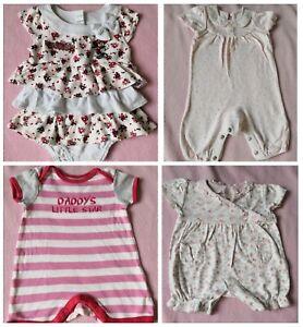 PerséVéRant Disney Minnie Mouse Mothercare Bébé Fille Body Gilet Ange Robe Bundle 0-3-afficher Le Titre D'origine à Distribuer Partout Dans Le Monde