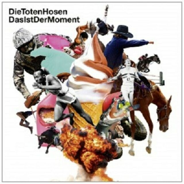 DIE TOTEN HOSEN - DAS IST DER MOMENT  CD SINGLE  4 TRACKS  ROCK & POP  NEW