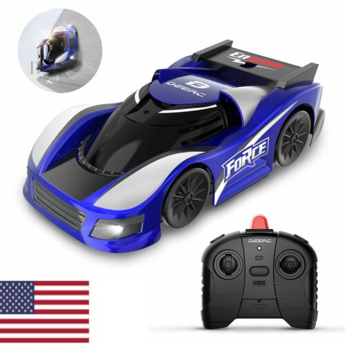 RC Cars Wall Climbing Gravity Defying Remote Control Anti Ceiling Racing Toys