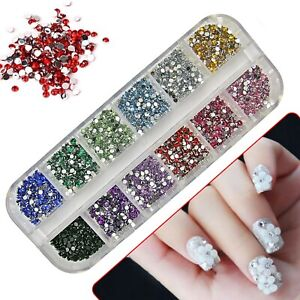 3000-3D-NAIL-ART-RHINESTONES-DECORATION-GLITTER-ACRYLIC-GEMS-AB-DIAMANTE-CRYSTAL